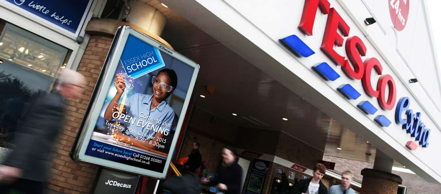 supermarket advertising for schools, colleges and universitys header banner image 2