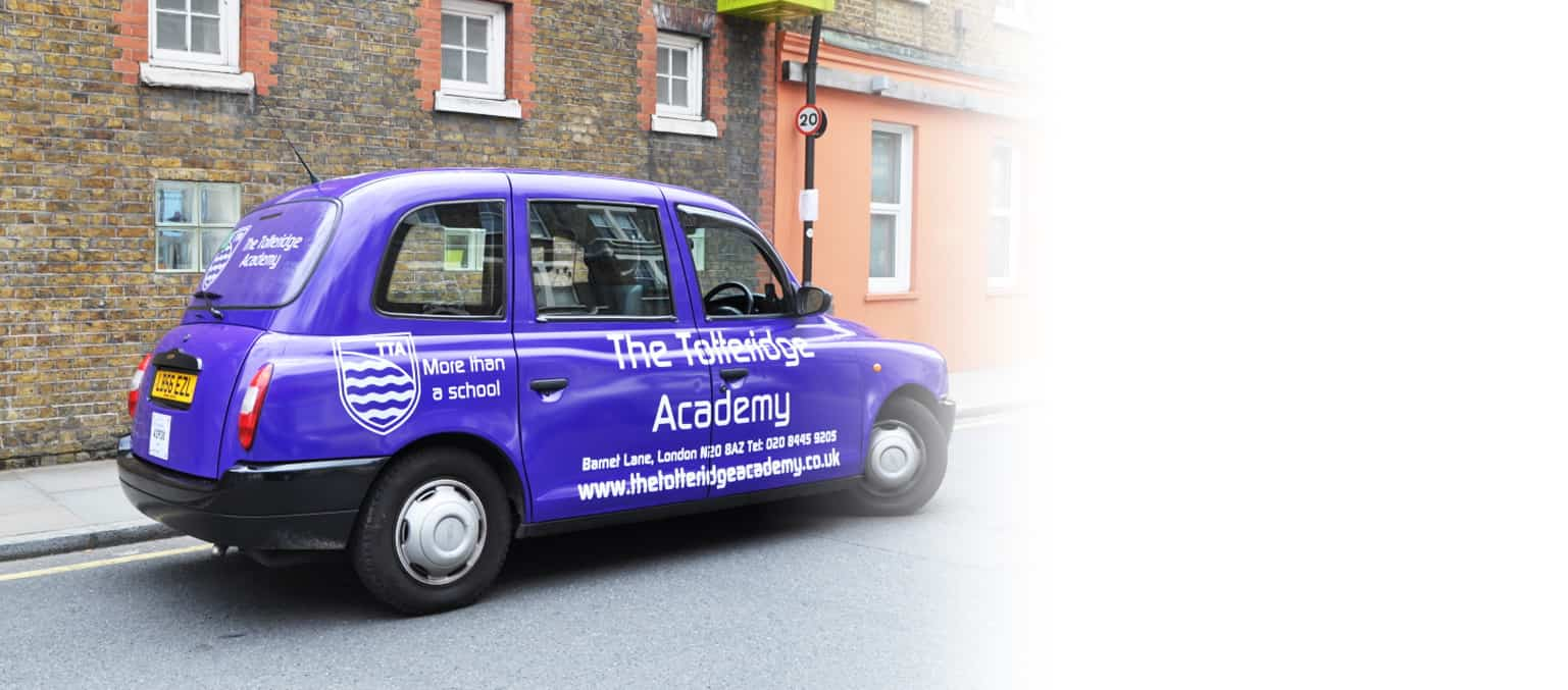 taxi advertising for schools and colleges header image 1